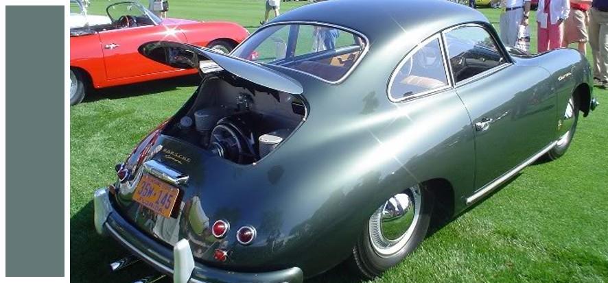 Codes peinture Porsche 356 540510