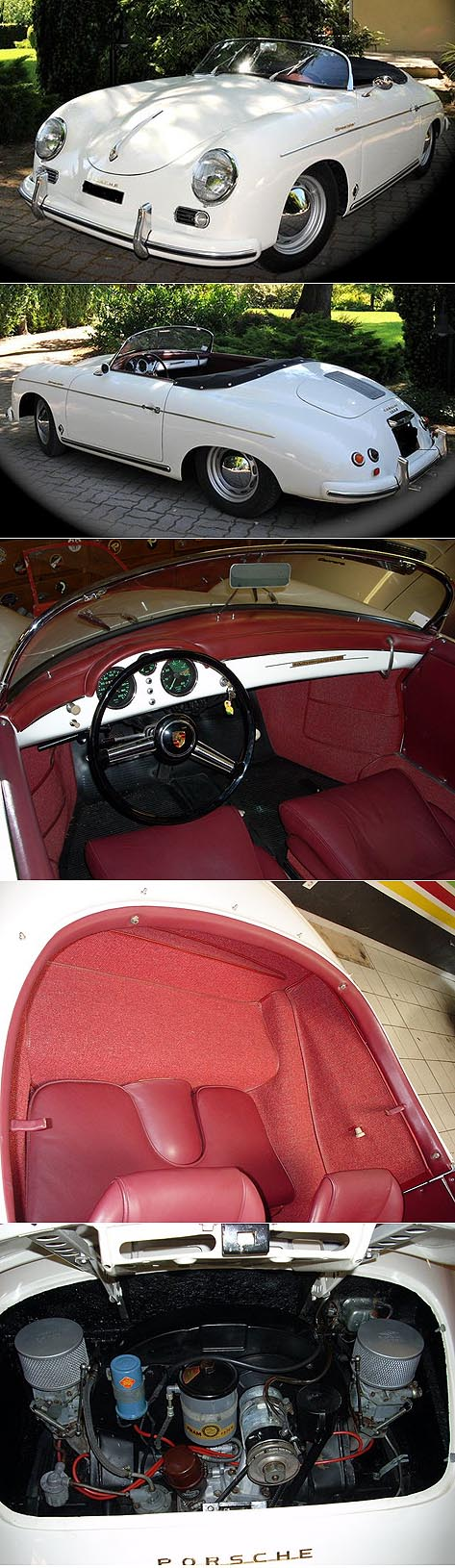 PORSCHE 356 speedster - 1955 A2624210