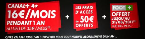 Offres Canal+ à partir du 01 Avril pour les abonnés Bbox ADSL & Fibre 13014110