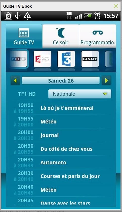 Exclu: Présentation du Guide TV et l'enregistrement à distance Gtv110