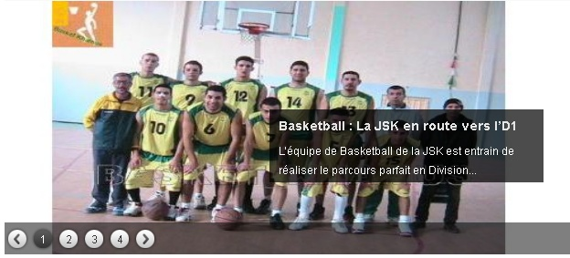 JS Kabylie : Section BASKETBALL 20130336