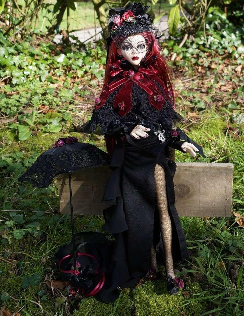 Evangeline Eternally yours et la tenue Evening rose par Mellody Dsc00913