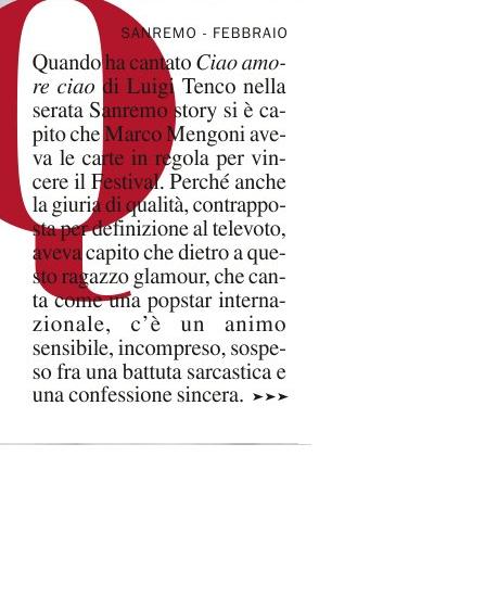 [Sanremo 2013] Marco va in Riviera 2 - Articoli e Interviste - Pagina 8 Chi_110
