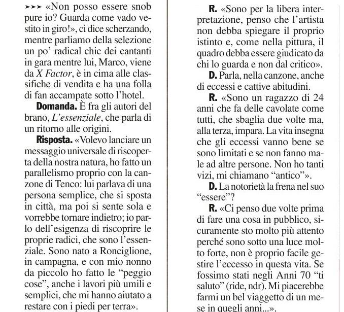 [Sanremo 2013] Marco va in Riviera 2 - Articoli e Interviste - Pagina 8 Chi_210