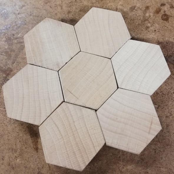 le pion du casse tete Hexago11