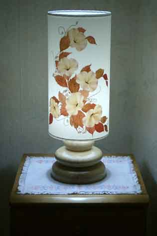 pied de lampe en forme de galet Lampes10