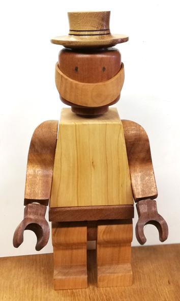 Il marche le bonhomme en bois Legoco12