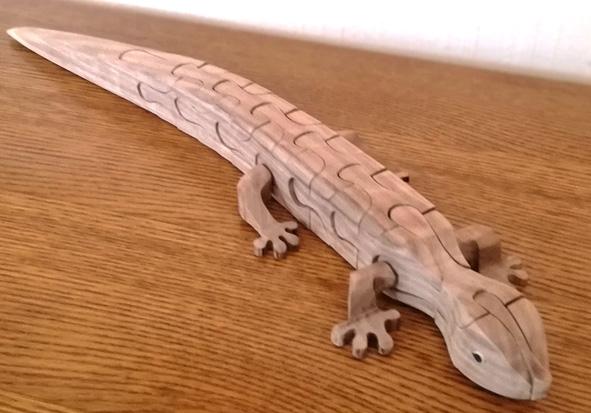 reptil inoffensif Lezard11