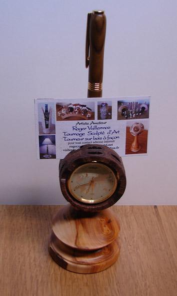 tournage d'une montre de bureau Pendul11