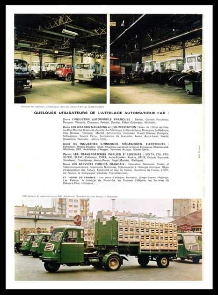 Les tracteurs FAR 27923610