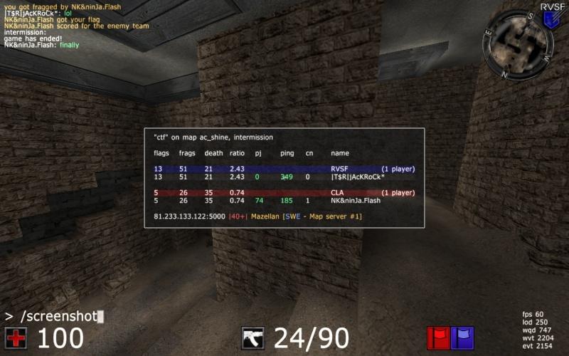 |T$R|jAcKRoCk* V NK&NinJa.Flash WIN 2-0 20100513