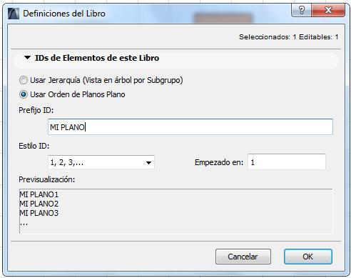 ORGANIZACON AUTOMATICAS DE PLANOS Id0310