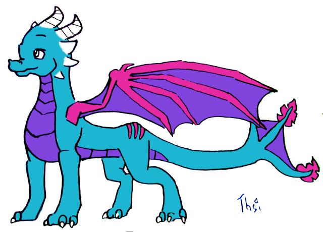 Taratatatata pouetpouet et voici mes p'tit dessins! Dragon10