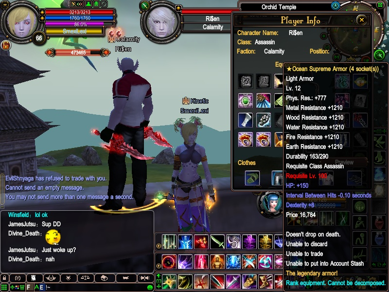 Ri$en's equipment - first lvl 100+ assassin 2010-020