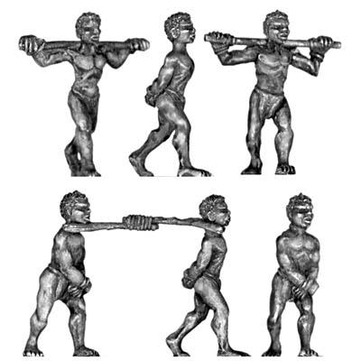 figurines de femmes en civil mais armées Esclav10