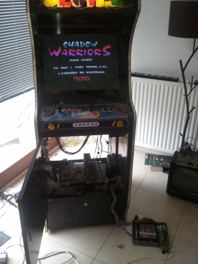 restauration borne arcade Jeutel n°2 ( Maxxx69 ) fini , la mienne ^^ Photo045