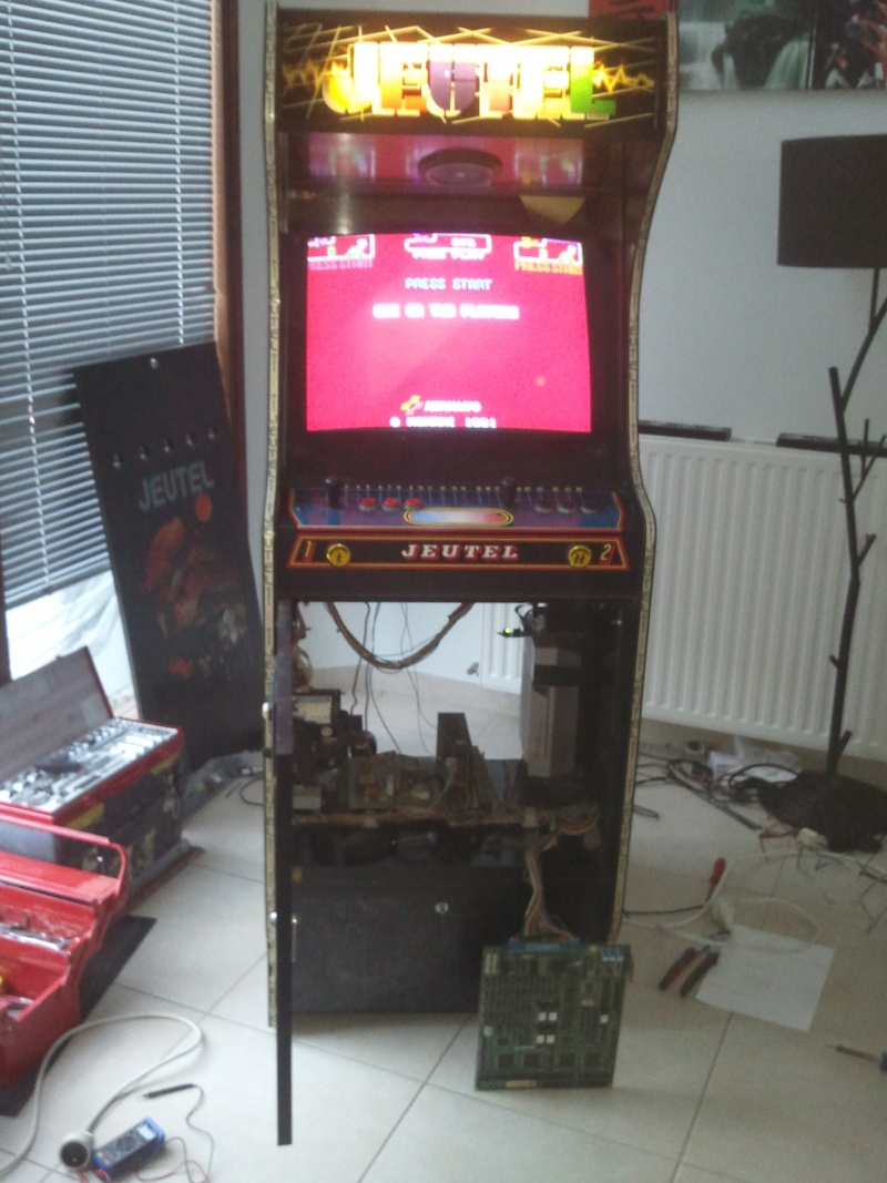 restauration borne arcade Jeutel n°2 ( Maxxx69 ) fini , la mienne ^^ Photo049
