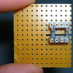 Montage d'un LM1881N, séparateur de synchro  Photo110