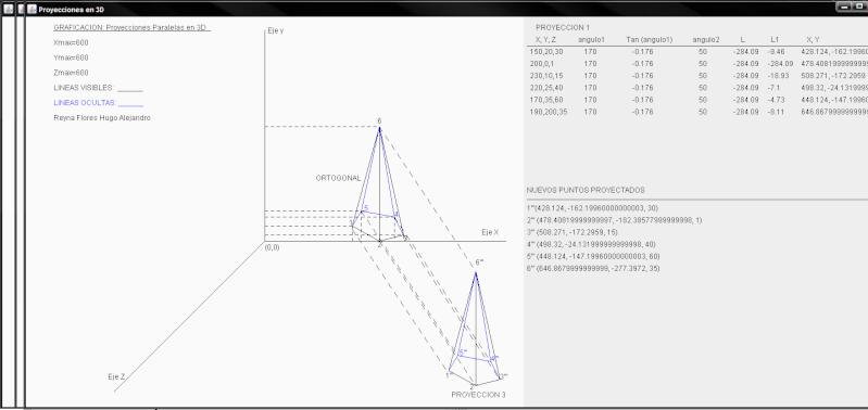 Proyecciones 3D - Graficacion -  Bastidas Ortiz Mario Alberto Avance11