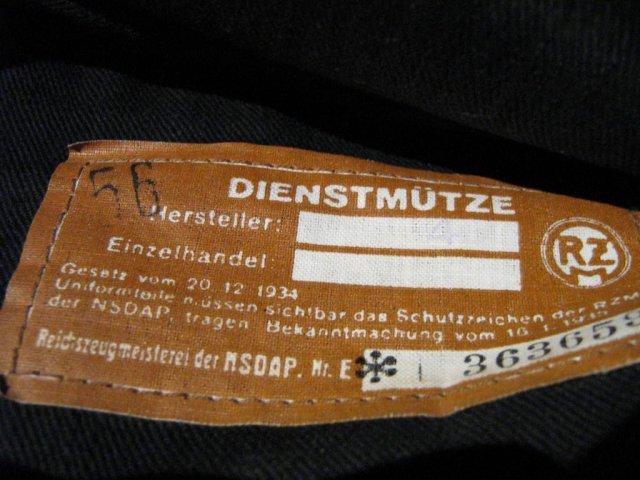 DienstMütze und FeldMütze für NSKK 26039810