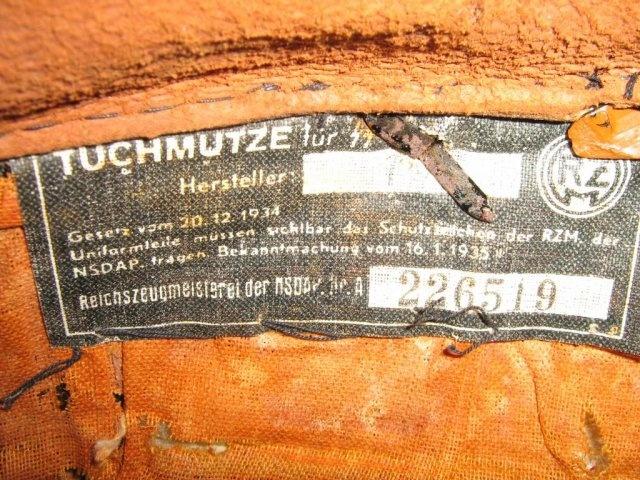 """""""Tuchmütze für SS"""" pour hommes de rangs et sous-officiers (1935-1940) Ss6_bm10"""