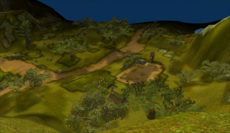 3photos dune vue panoramique en map2 sur le haut dune montagne =D Shaiya13