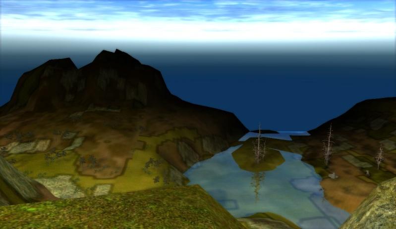 3photos dune vue panoramique en map2 sur le haut dune montagne =D Shaiya14