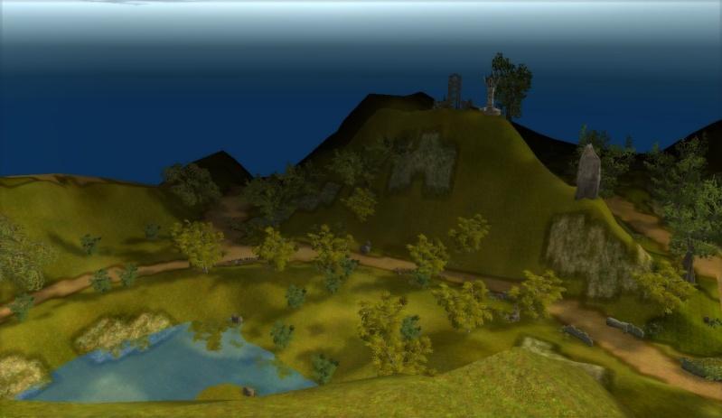 3photos dune vue panoramique en map2 sur le haut dune montagne =D Shaiya15