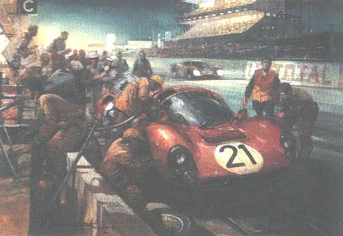 le sport auto  et l'art - Page 5 Turner11