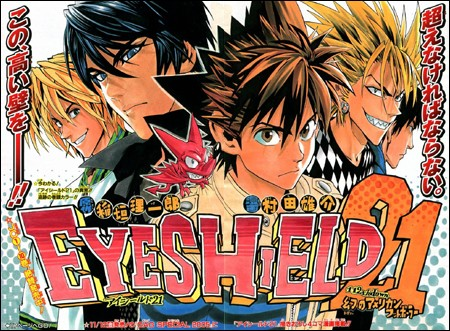Eyeshield 21 ( Auteur : Muruta Yuusuke ) Eyeshi10