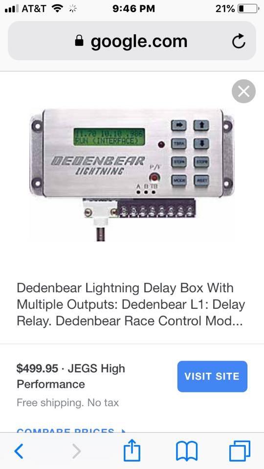 Dedenbear Delay Box  87263b10