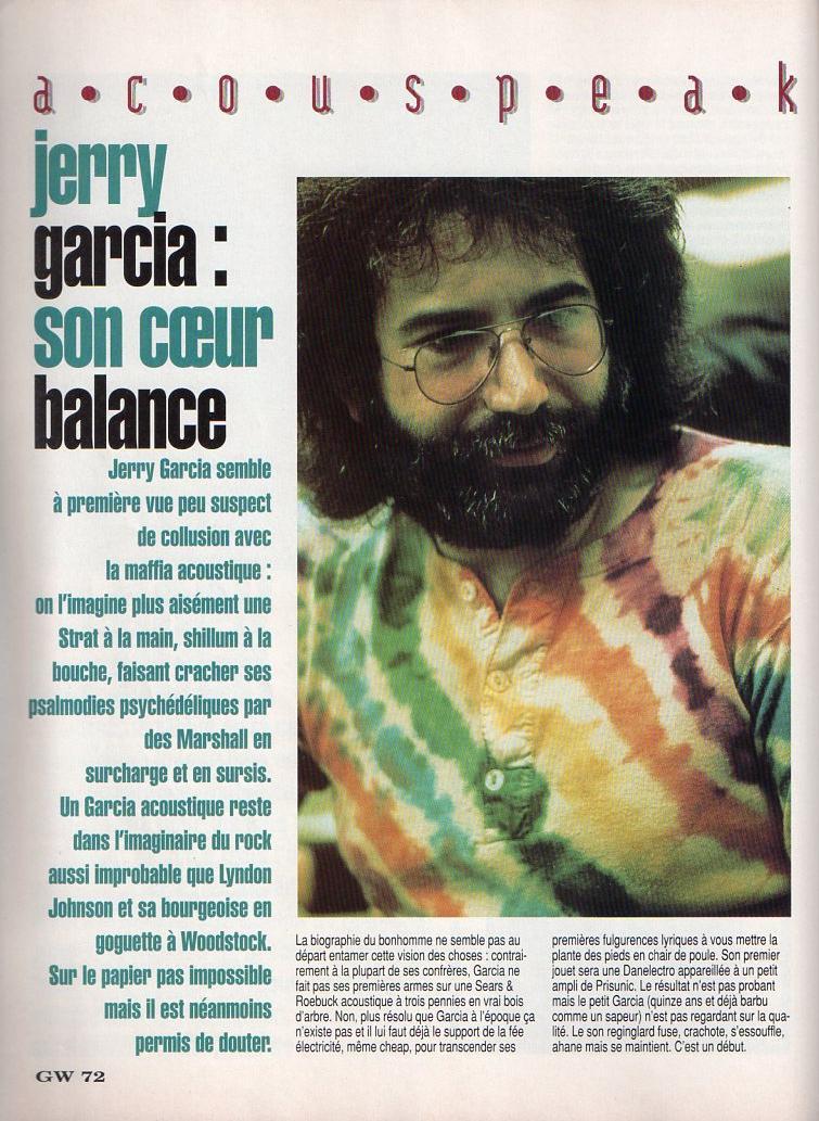 Grateful Dead - Presse Francophone Guitar13