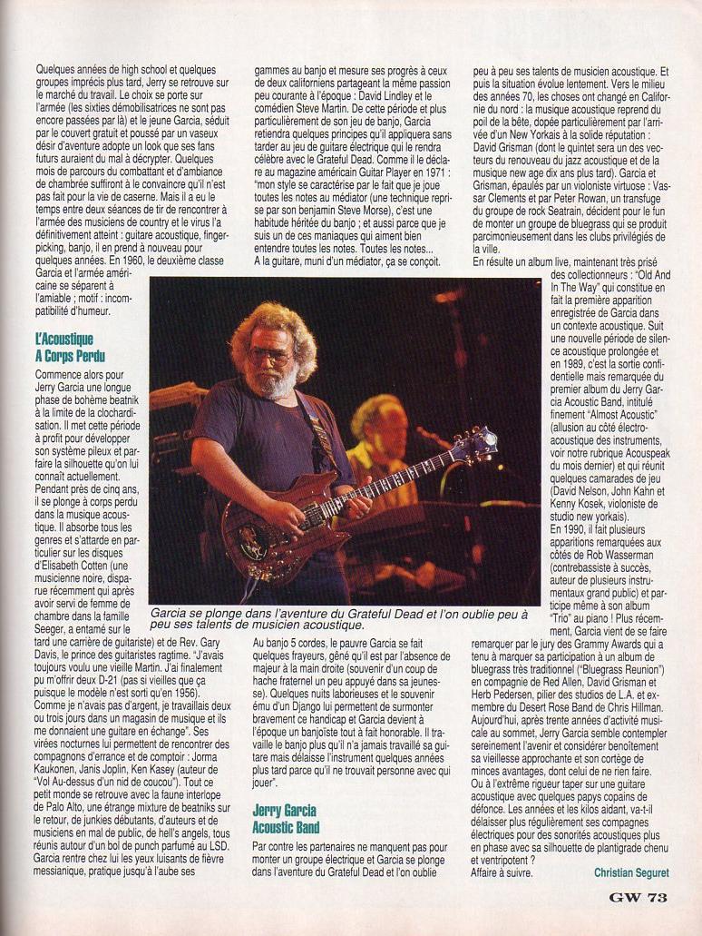 Grateful Dead - Presse Francophone Guitar14