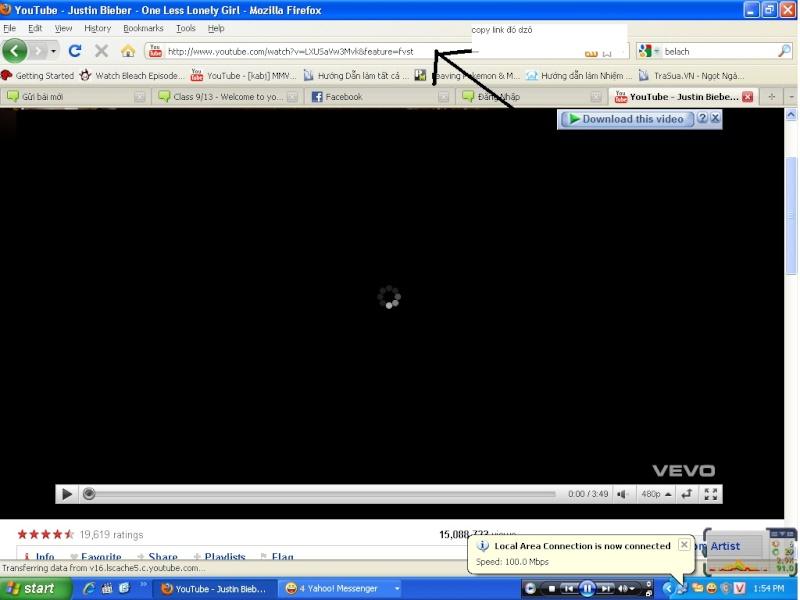 Hướng dẫn post video từ youtube... Untitl11