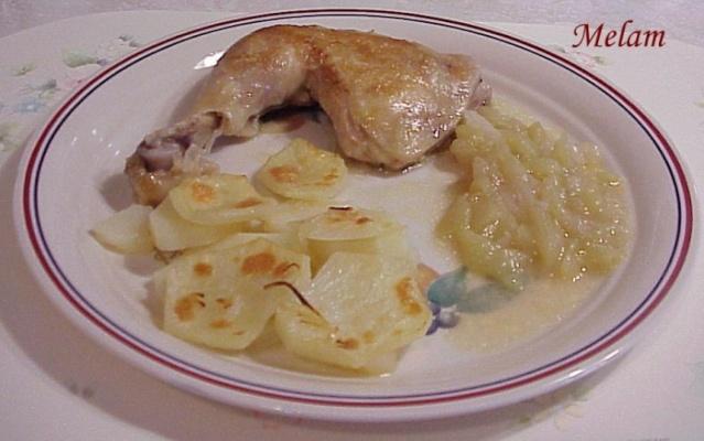 Pommes de terre boulangères Poulet10