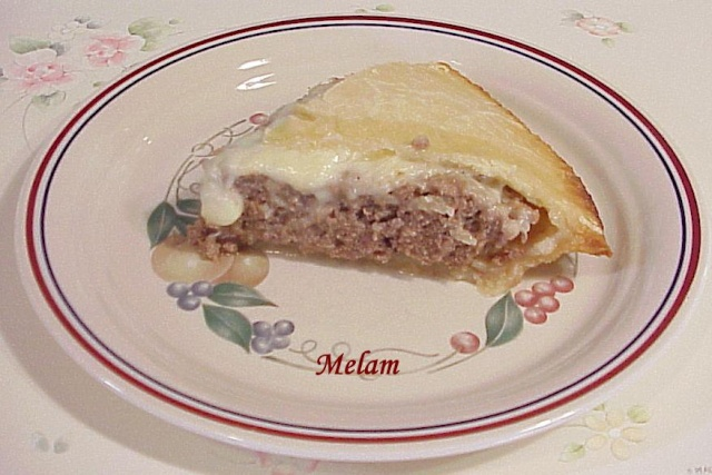 Tourtière gratinée (genre pain de viande) Tourti10