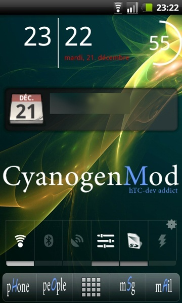 [APPLICATION ANDROID - LAUNCHER PRO PLUS ] Interface qui a un air de sense [plus disponible] Snap2010