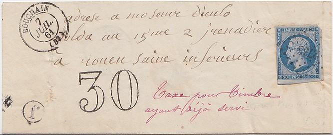 Juillet 1861: l'Affaire COUVET. Bouch110