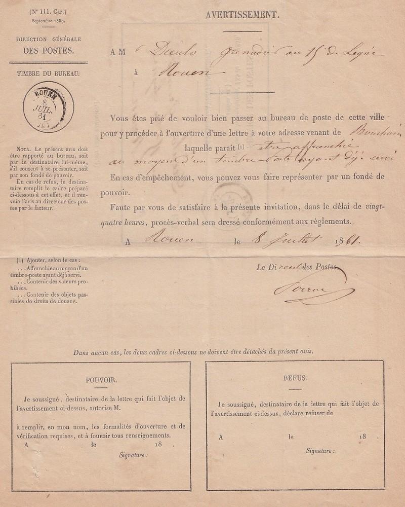 Juillet 1861: l'Affaire COUVET. Bouch310
