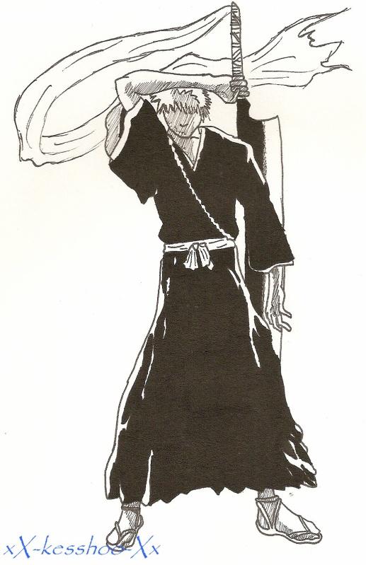 du noir au blanc Ichigo11