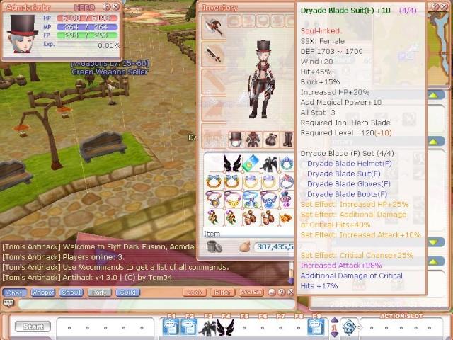 Update 23/03 01:05 Flyff022