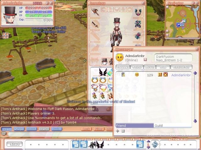 Update 23/03 01:05 Flyff023