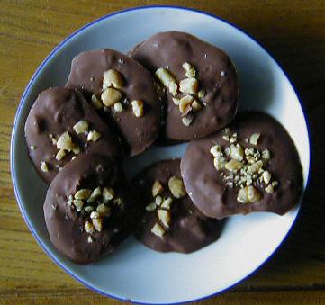 Mendiants au chocolat Wpemen10