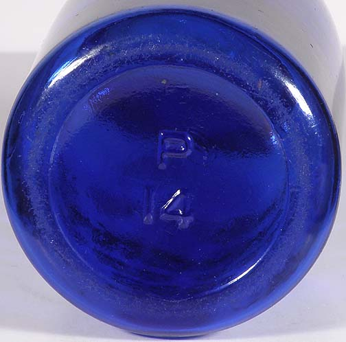 COBALT BLUE Masons Patent 1858 Quart 24500,00r eserve not meat  Blue210