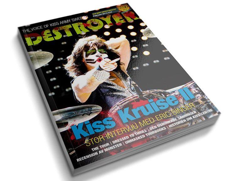 """DESTROYER N°33  fanzine de la """"KISS Army Sweden"""" est disponible !!! 57983610"""
