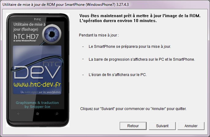 [TUTO]Flasher / Downgrader un spl inferieur à 4.X/Umbrander  son WP7 1er generation 0910