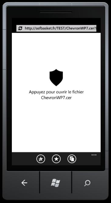 [TUTO] Utilisez ChevronWP7 et déverrouilez votre Windows Phone pour installer de nombreuses applications Chevro13