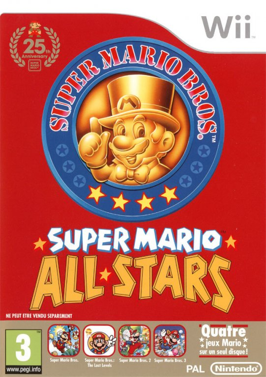 Test Super Mario All-Stars 48172-10