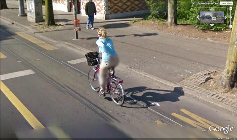 STREET VIEW : les prises inédites de photos... Genave10