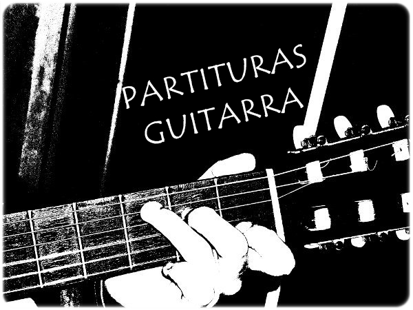 Partituras Guitarra